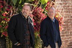 Frank Kersey (Vincent D'Onofrio) mit Bruder Paul Kersey (Bruce Willis) - Death Wish
