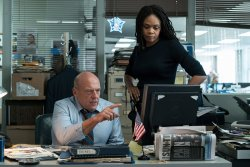 Detective Kevin Raines (Dean Norris), Detective Leonore Jackson (Kimberly Elise) - Death Wish