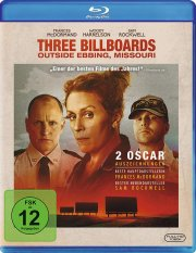 Blu-Ray Cover - Three Billboards Outside Ebbing, Missouri