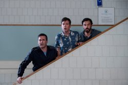 Bob Callahan (Jon Hamm), Hogan 'Hoagie' Malloy (Ed Helms), Randy 'Chilli' Cilliano (Jake Johnson) - Catch me!