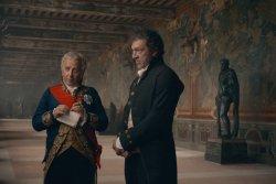 Fouché (Fabrice Luchini), François Vidocq (Vincent Cassel) - Vidocq - Herrscher der Unterwelt